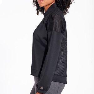 CALIA Women's Mesh Back Pullover Sweatshirt NWT
